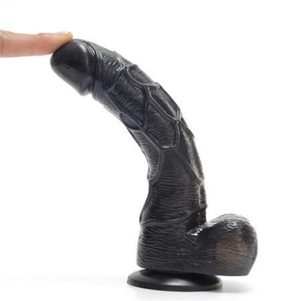 7inch-.black-african-dildo-for-women-females-in-india