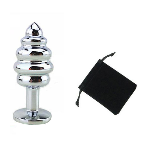 Stainless-Steel-Butt-Plug-Anal-Massager-Spiral-Beads-Stimulation-Thread-Anal-Plug-Anus-Sex-Toy-for