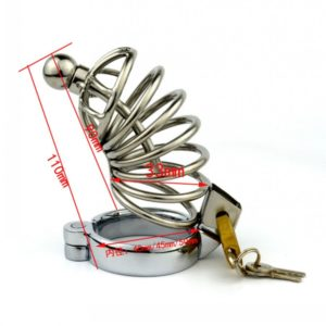 Stainless-Steel-Bondage-Male-Chastity-Cage-with-Urethral-Plug-SoundsPenis-Cage-Chastity-Device-Adult-Sex-Toy-2